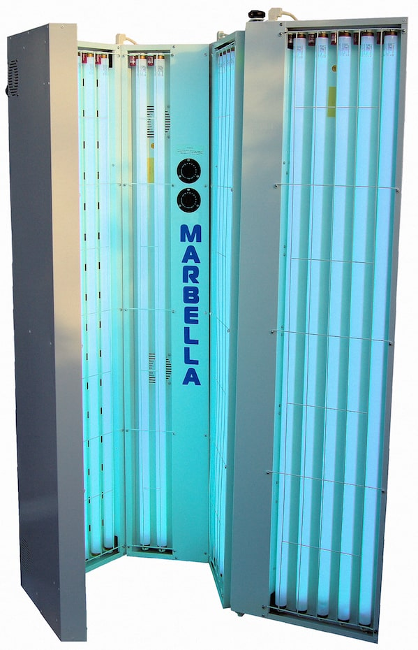 Marbella vertical sunbed hire £90 for 4 weeks